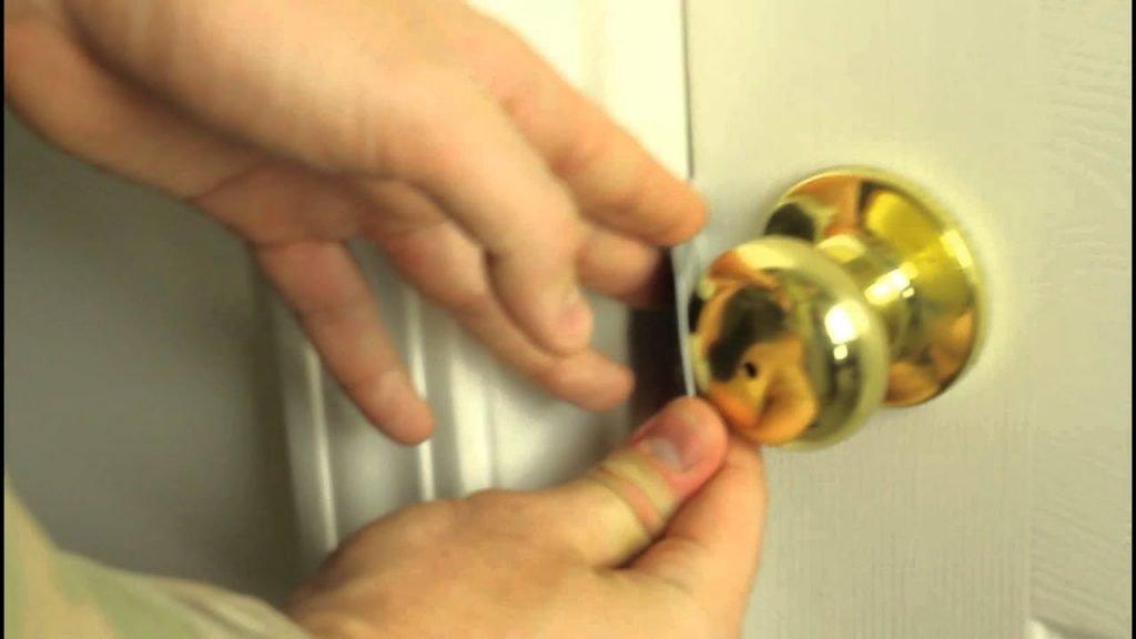 How To Unlock Bathroom Door Twist Lock Bath Tricks